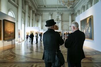 В Эрмитаже проходит выставка, посвященная истории фотографии