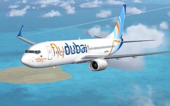 Рейс flydubai из Баку в Дубай экстренно сел в Иране из-за задымления