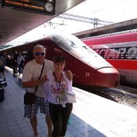 За час из Рима в Неаполь.