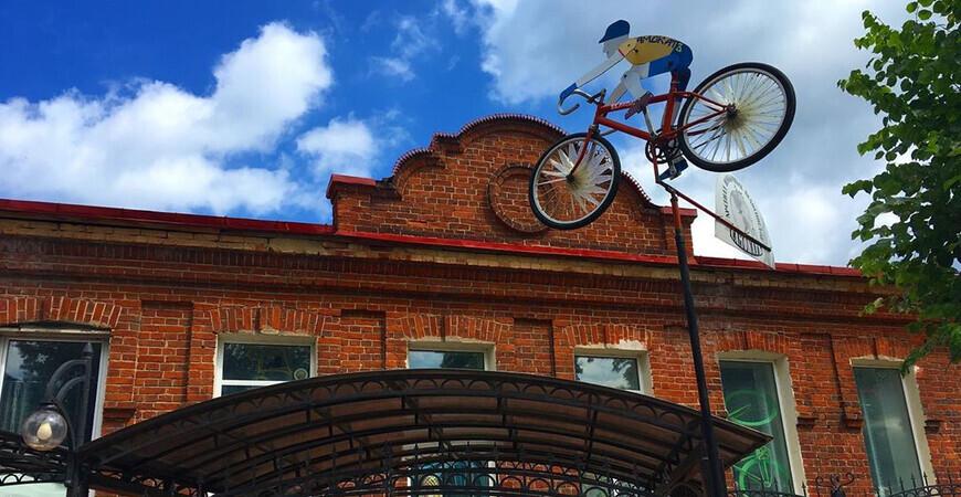 Музей велосипедов в Угличе