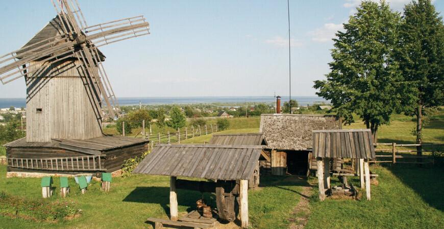 Этнографический музей Козьмодемьянска под открытым небом
