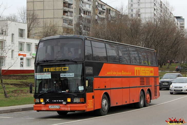 Автобус Таганрог — Москва