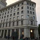 Фирменный магазин Apple на площади Каталонии