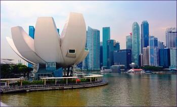 В Сингапуре туристка укусила полицейского и оказалась в тюрьме