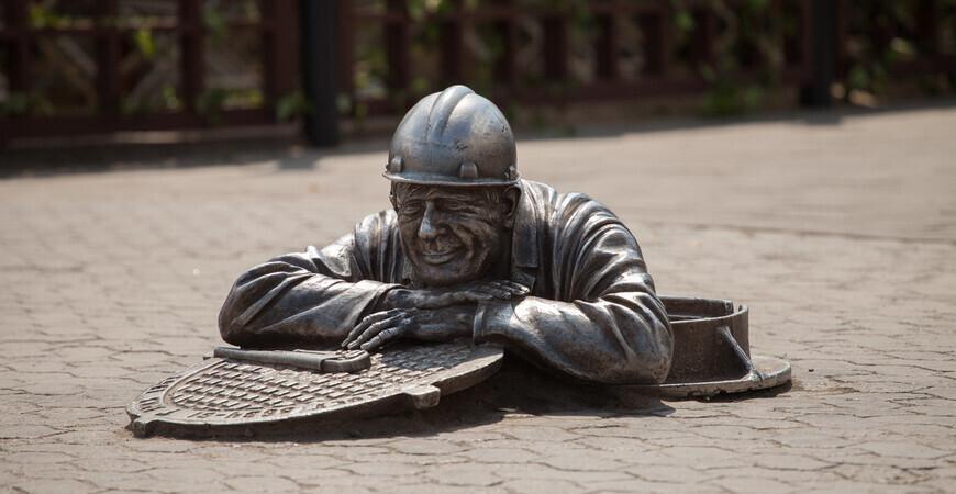 Памятник «Сантехник Степаныч»