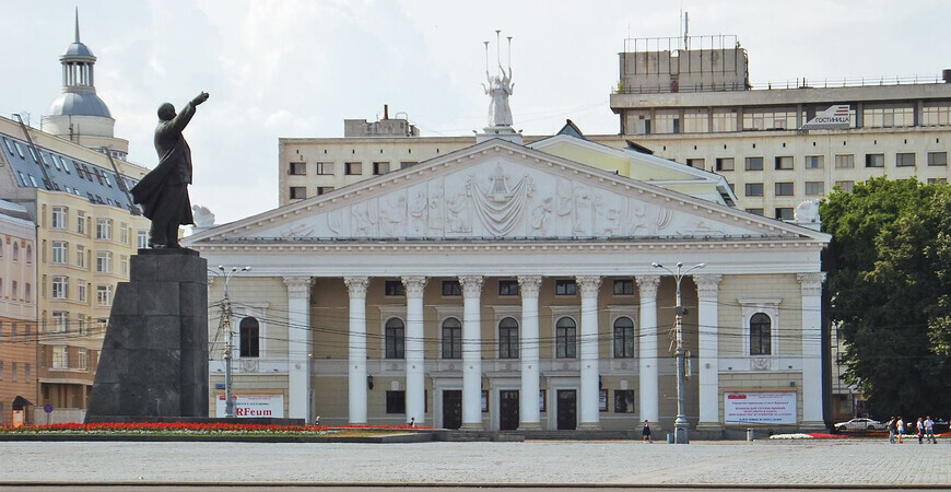 Театр оперы в Воронеже
