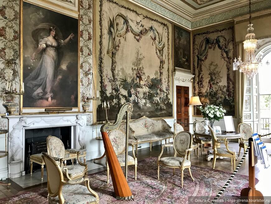 Музыкальный салон замка Инверари - верх изящества