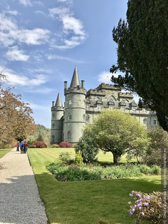 Замок Инверари прекрасен с люблых ракурсов