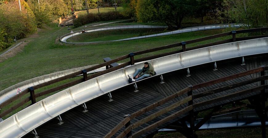 Бобслейная трасса в Праге (Бобова драга)