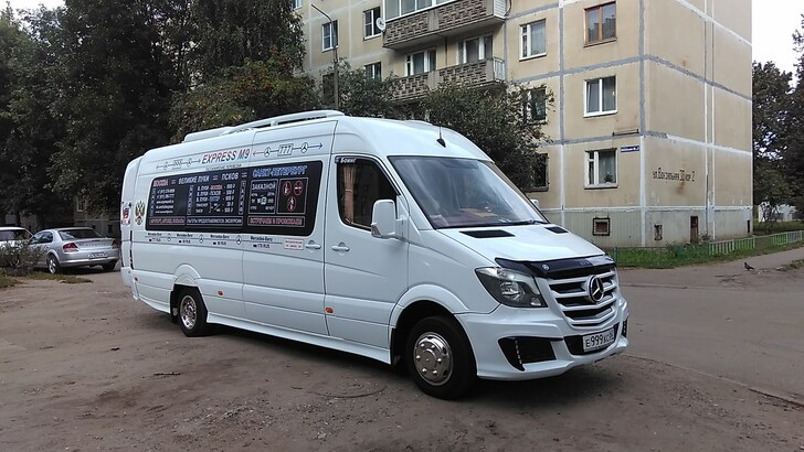 Автобус Москва — Псков