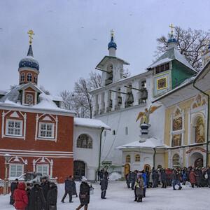 Псковская земля в январе