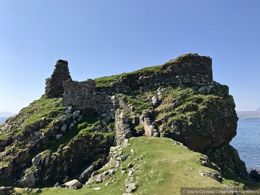 Хотя эти камни трудно назвать замком, но на картах место обозначено как замок Дунскейт