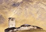 село Ушгули, монастырь