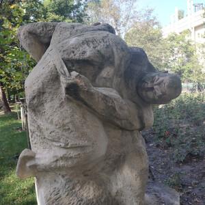 Парк скульптур в Бишкеке