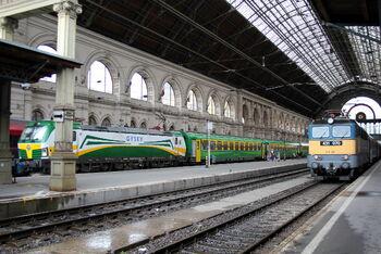 Восточный ж/д вокзал (Келети)