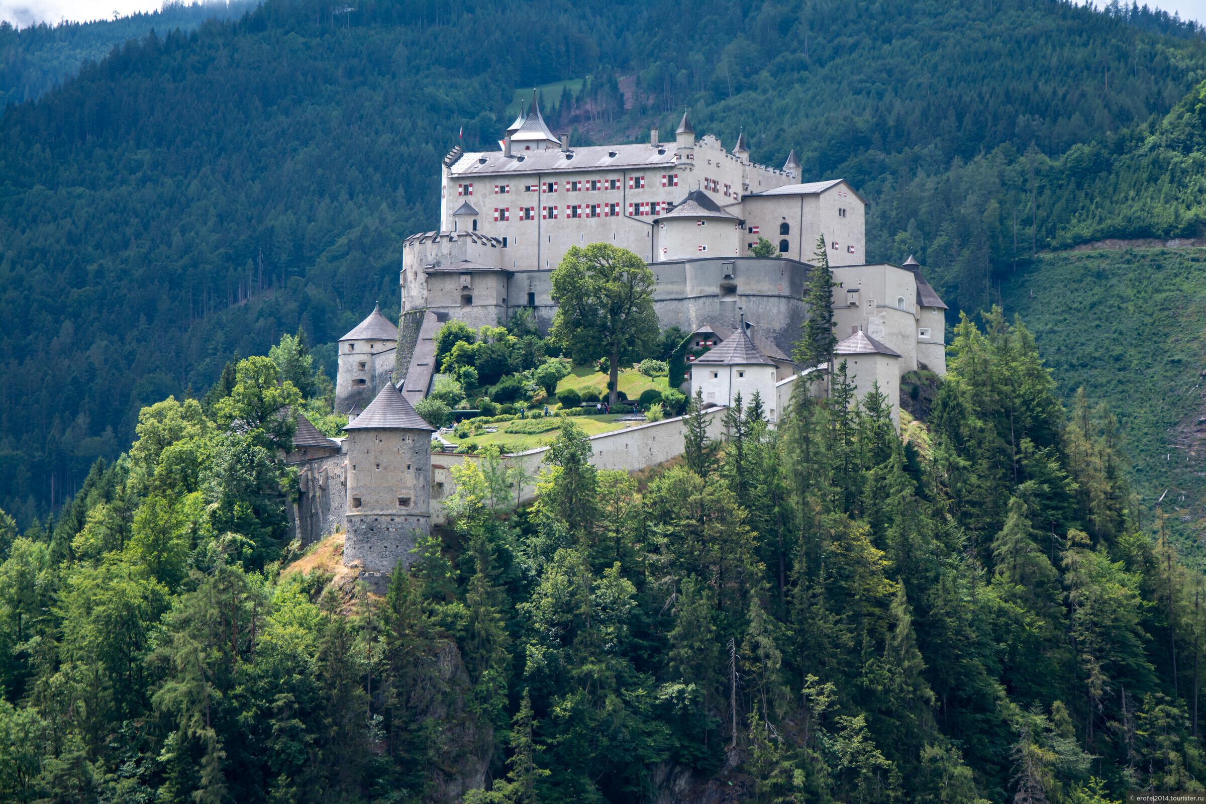 Большое путешествие по Австрии и не только. День 2. Фушль-ам-Зее, Айсризенвельт, Хоэнверфен, Вольгангзее