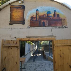 Раннеисламская мечеть иприлегающий кней «Караван-сарай» вТаразе