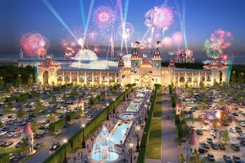 Крупнейший в Европе парк развлечений Остров мечты откроют в конце года