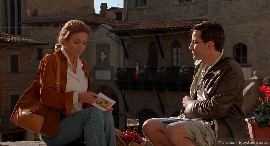 """Кадр из фильма """"Под Солнцем Тосканы"""", 2003 г."""