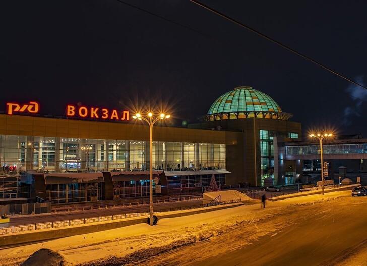 Вокзал Уфы