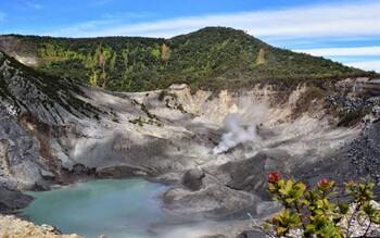 Власти Индонезии открыли туристам доступ к вулкану Тангкубан-Прау