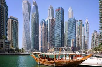 Россия по турпотоку в Дубае находится на шестом месте