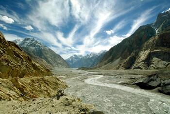 В Индии для туристов открыли ледник Сиачен