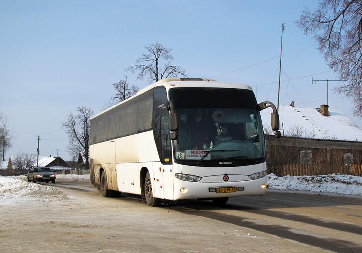 Автобус Москва — Кашин