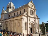 Кафедральный собор в хорватском Шибенике — объект Всемирного наследия ЮНЕСКО