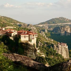 Греческие Метеоры. Монастырь Варлаам