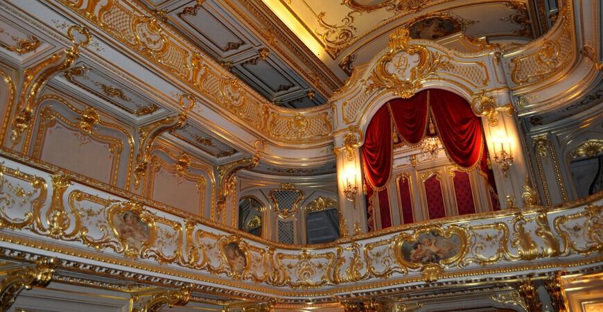 Домашний театр в Юсуповском дворце (Юсуповский театр)