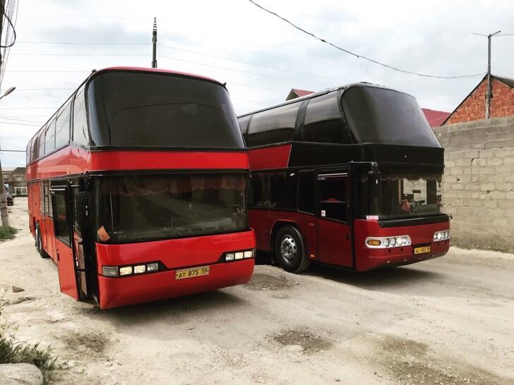Автобус Москва — Дербент