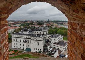 Дождливый Вильнюс