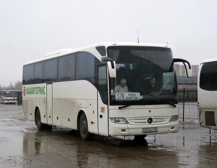 Автобус Уфа – Киров