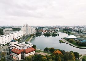 Обзорная площадка гостиницы «Беларусь»