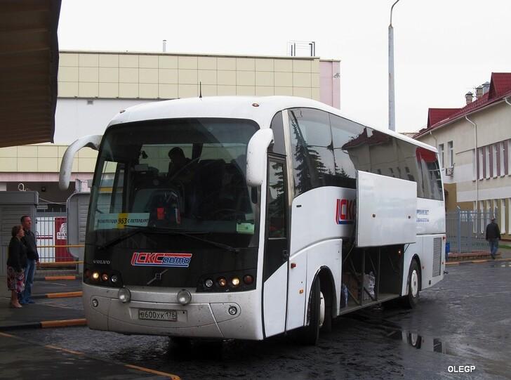 Автобус Санкт-Петербург — Псков
