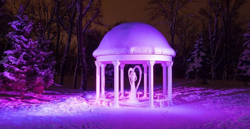 Парк Горького в Луганске