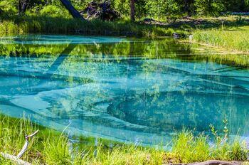 Гейзерные озера