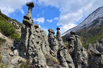 Каменные грибы Аккурум