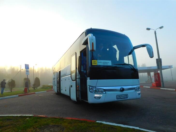 Автобус Санкт-Петербург — Выборг
