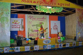 Выступление участников фестиваля