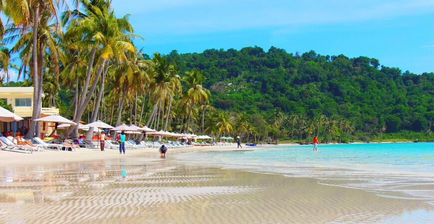Пляж Бай Сао (Sao Beach)
