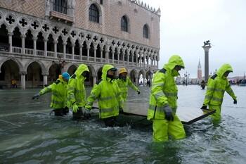 В Венеции введён режим ЧП из-за наводнения