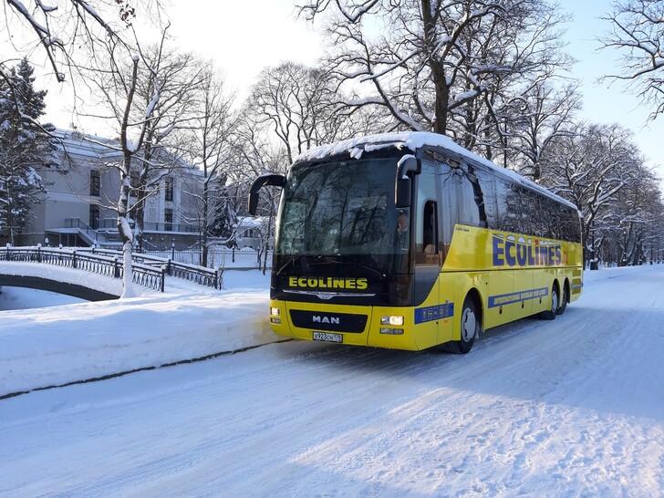 Автобус Санкт-Петербург — Петрозаводск