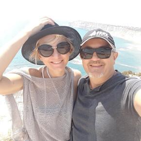 Турист Владимир и Ольга (Gid_Kipr)