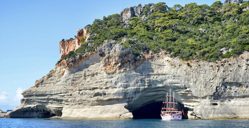 Пещера пиратов в Кемере