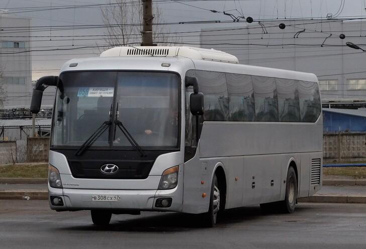 Автобус Кириши — Санкт-Петербург
