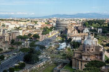 Рим с высоты птичьего полёта