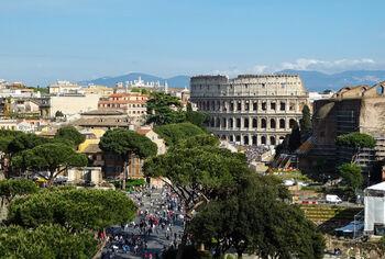 Панорама Рима с монумента Витториано