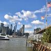 Панорамный вид на Нижний Манхэттен, Бруклинский мост